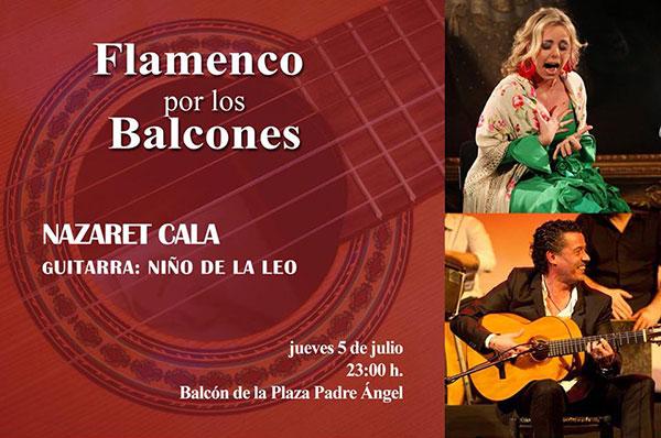 Cartel Flamenco en los Balcones